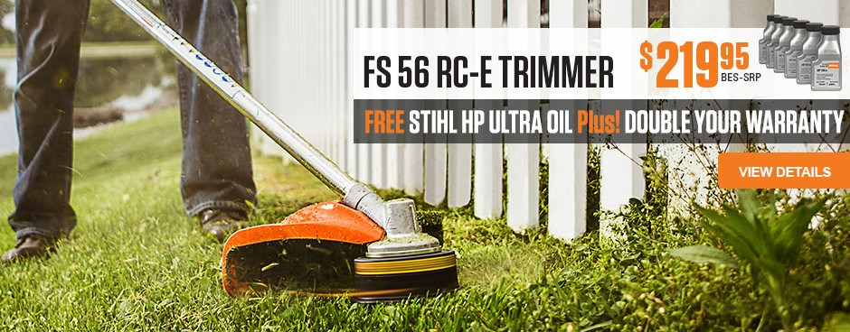 Free STIHL HP Ultra Oil with purchase!